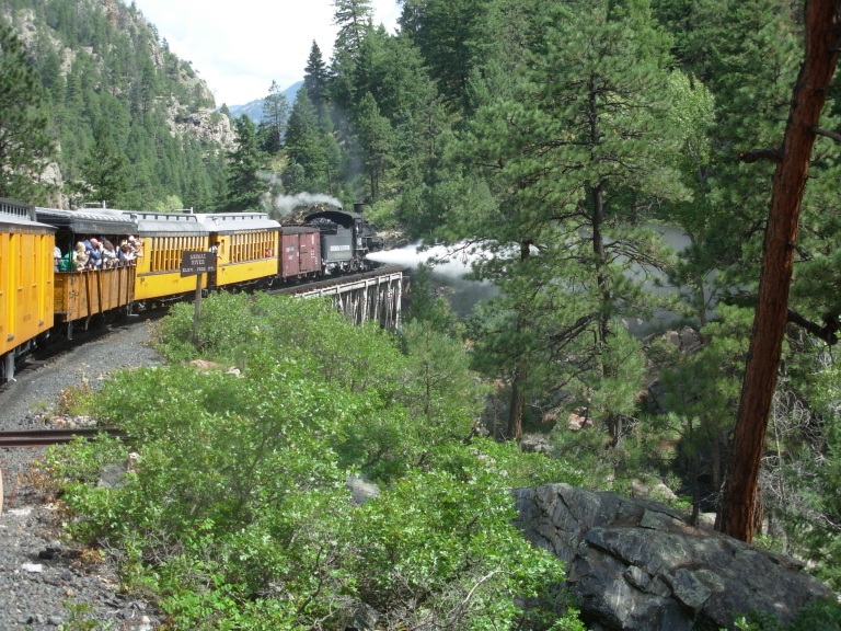 The Durango/Silverton Railroad