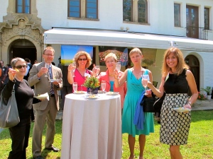 Dining at the Swedish Embassy in Washington DC with Association of Food Journalists