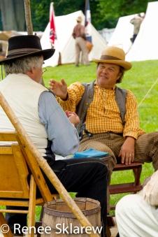 Civil War Reenactors in Manassas