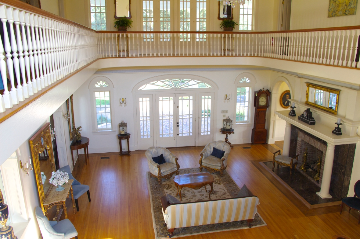 Inside the Oak Crest Mansion Inn