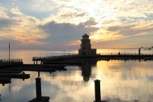 Sunset in Biloxi