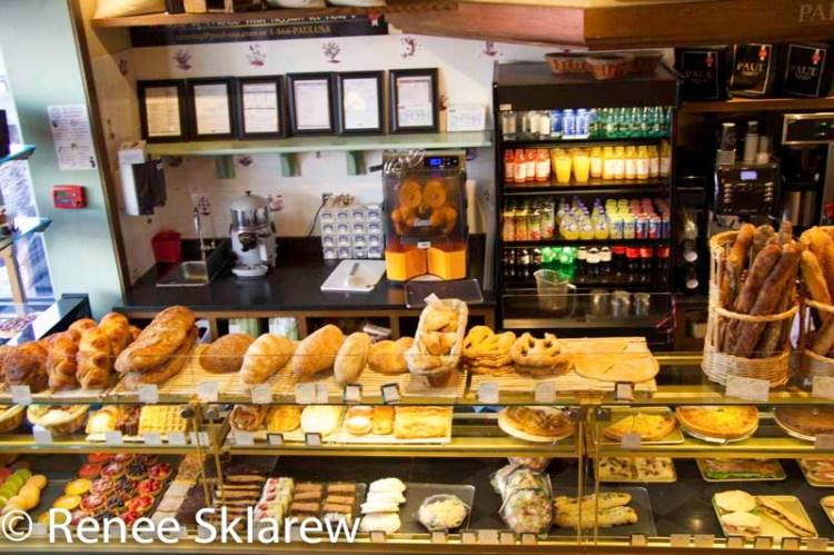 Paul Bakery counter in Georgetown