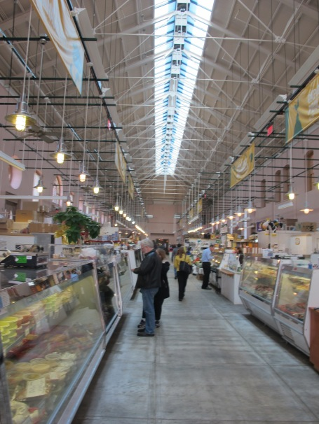Inside Eastern Market