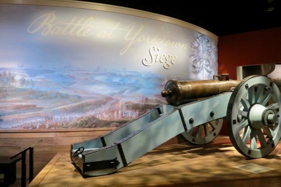 Museum of the American Revolution in Yorktown Battlefield