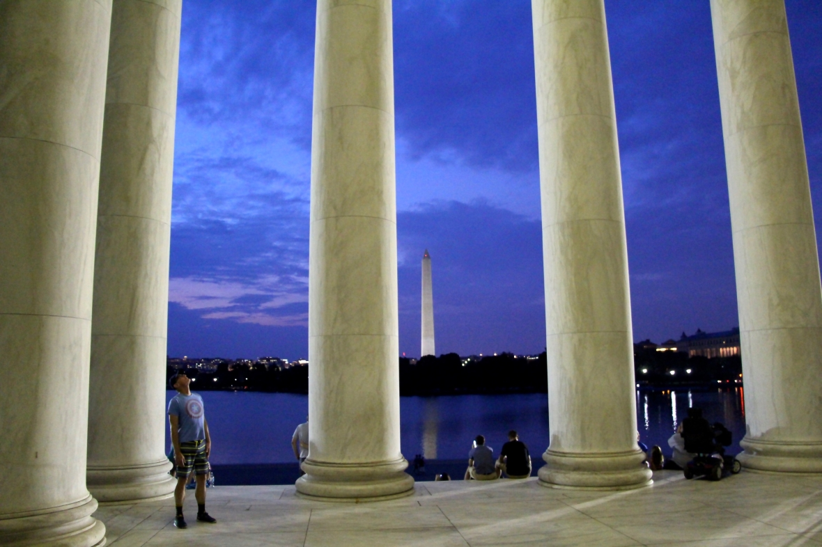 Moonlight National Mall