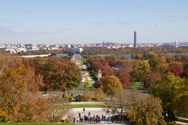 View from Arlington Cemetery