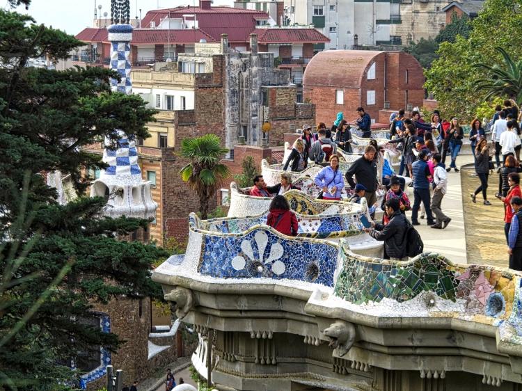 Parc Guell Barcelona Gaudi