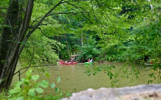 Calleva Kayaking lessons in Maryland Potomac River