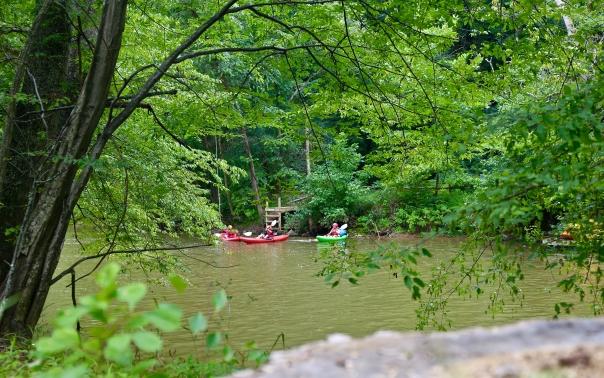 Calleva Kayaking lessons in Maryland Potomac River